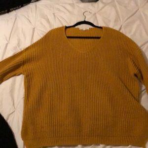 Mustard oversizeSweater